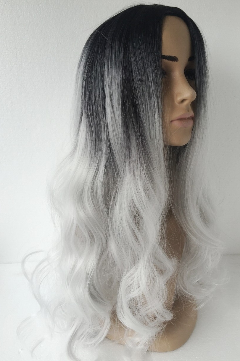 Recent Grayscale Ombre Blonde Hairstyles Inside Images Of Black White Ombre Hair – #spacehero (View 12 of 20)