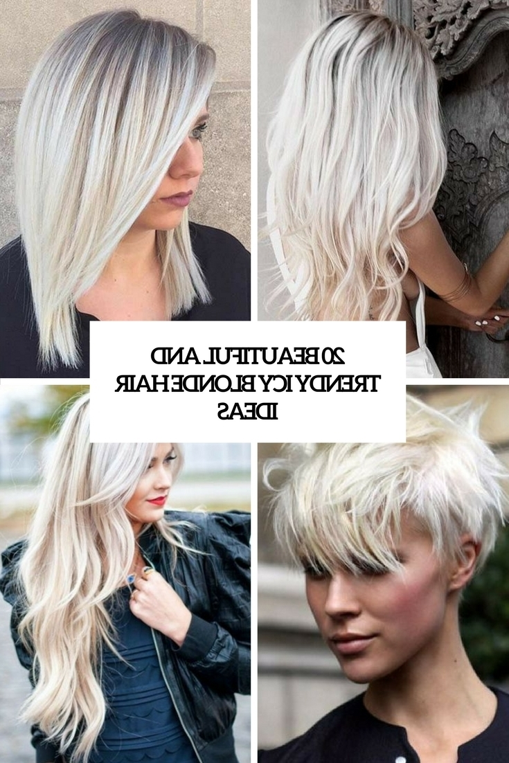 Recent Icy Ombre Waves Blonde Hairstyles Inside 20 Beautiful And Trendy Icy Blonde Hair Ideas – Styleoholic (View 16 of 20)