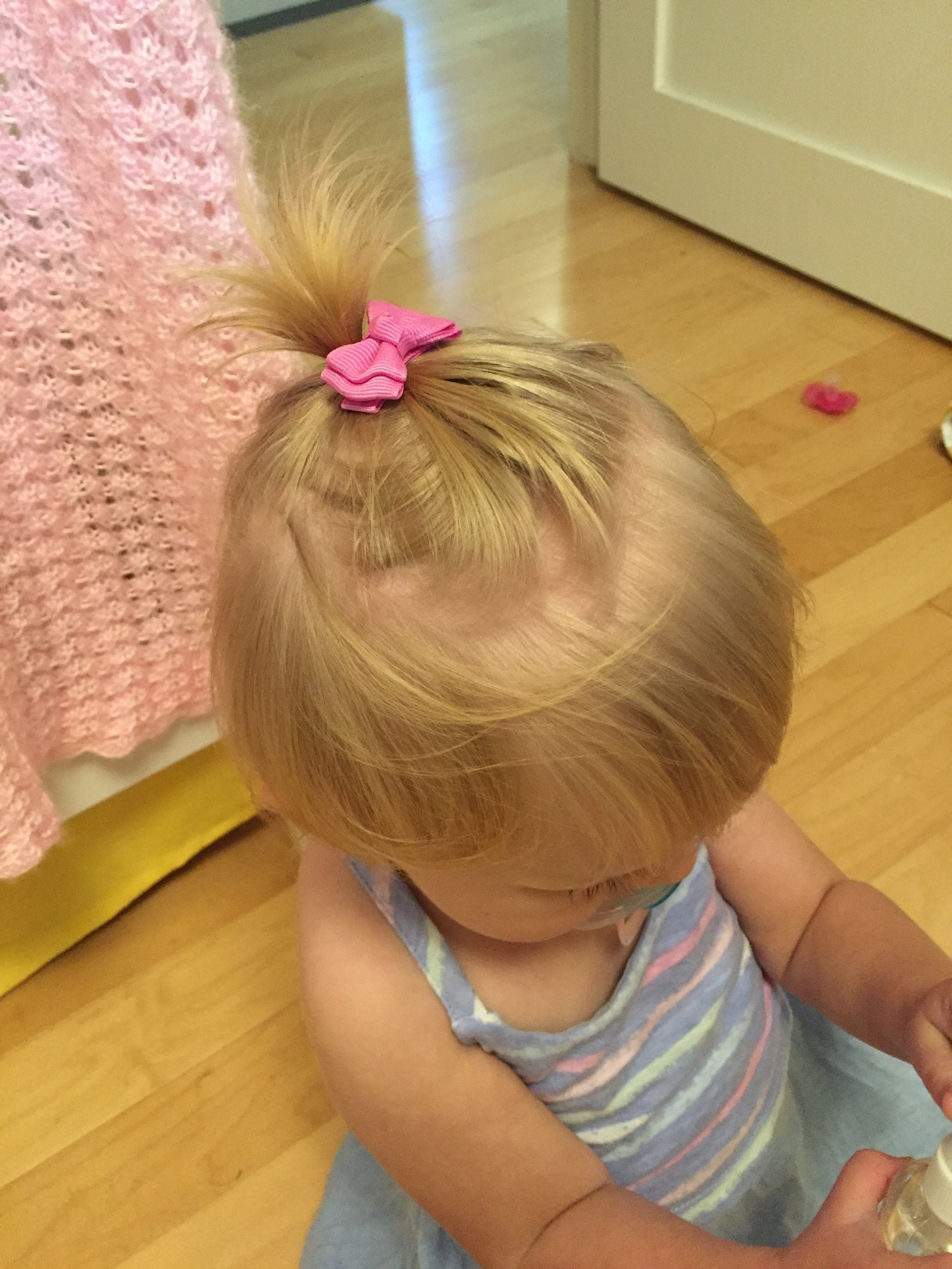 Recent Pebbles Pony Hairstyles Inside 5 Easy Hairstyles For Little Girls (Who Don't Have A Lot Of Hair (Gallery 19 of 20)