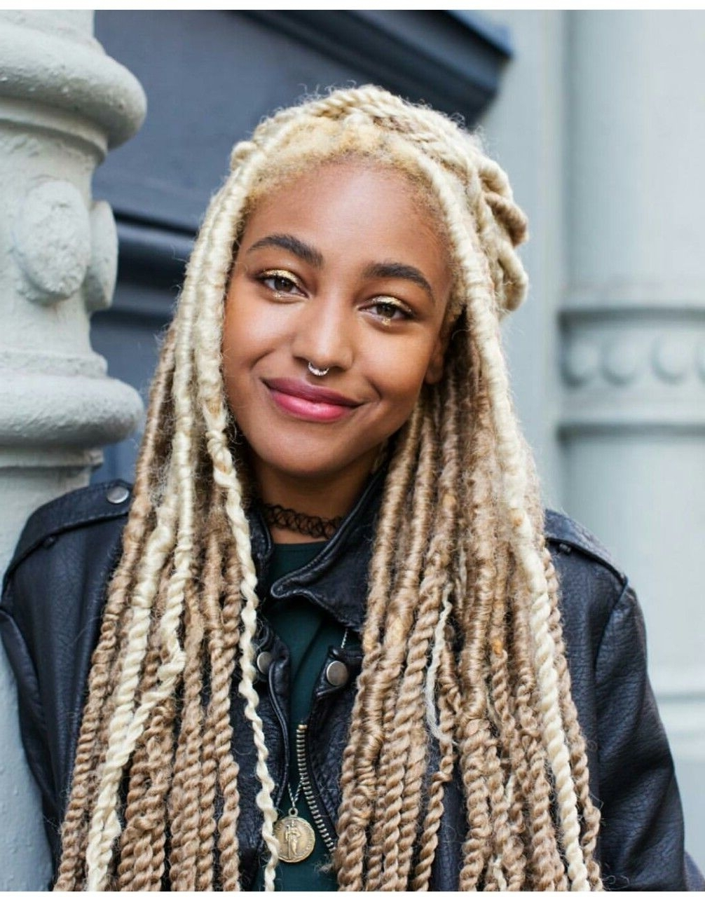 Recent Platinum Blonde Long Locks Hairstyles Intended For These Platinum Blonde Marley Twists Are Super Cute. // #hair (Gallery 3 of 20)