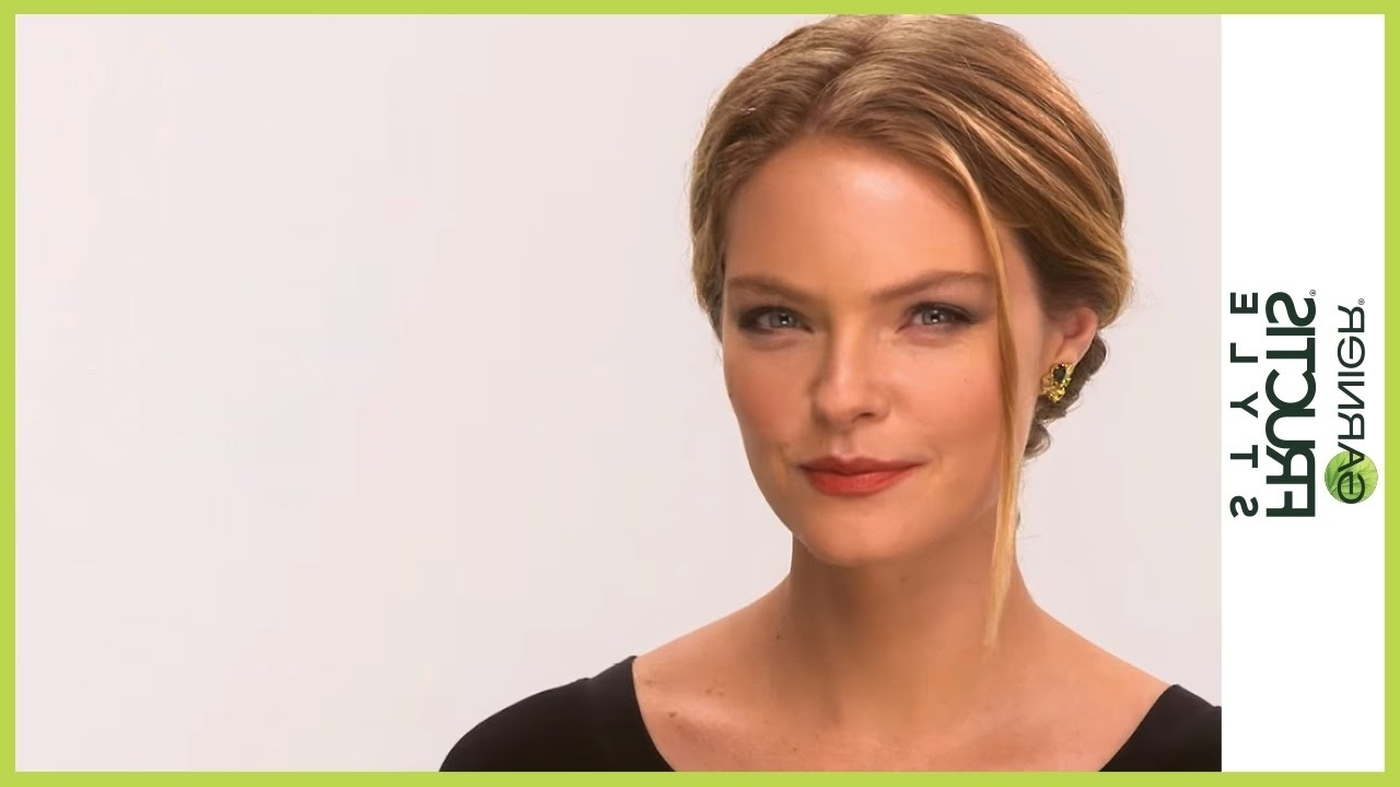 Recent Red Carpet Worthy Hairstyles Pertaining To Red Carpet Worthy Wrapped Ponytail Hairstyle Tutorail (Gallery 2 of 20)