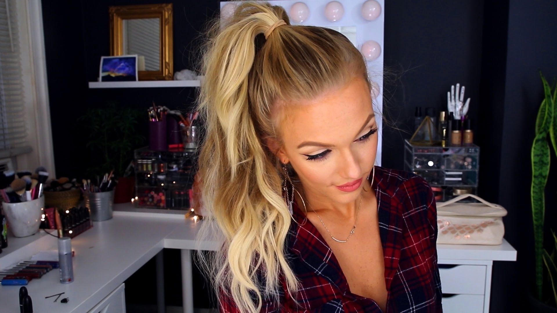 Recent Sassy Side Ponytail Hairstyles Intended For Sassy Voluminous Ponytail W/ Extensions – Youtube (Gallery 17 of 20)