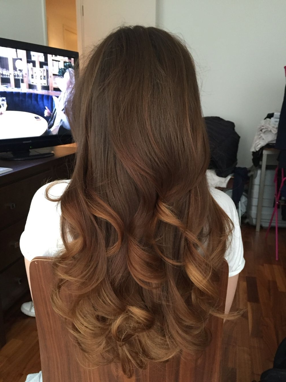 Recent Soft Flaxen Blonde Curls Hairstyles Within Loving These Long Loose Waves (Gallery 6 of 20)