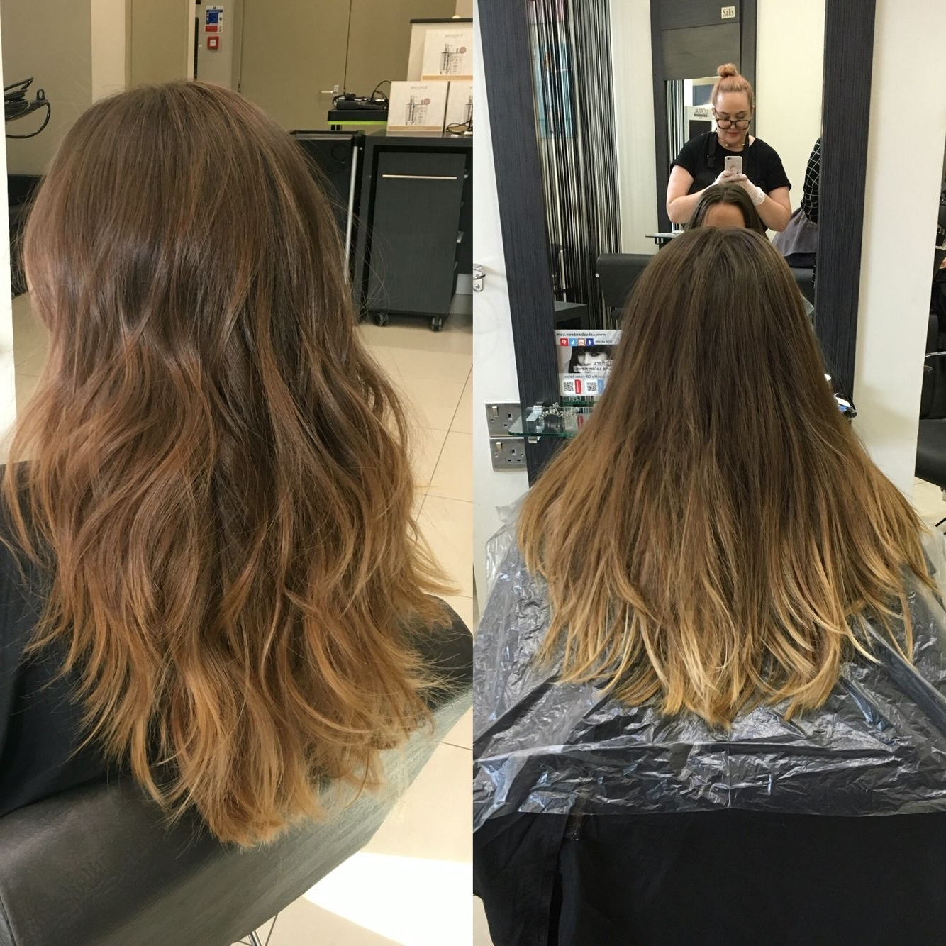 Recent Subtle Brown Blonde Ombre Hairstyles Pertaining To New Hair Balayage Subtle Brown Blonde Highlights To Cover And Tone (View 15 of 20)