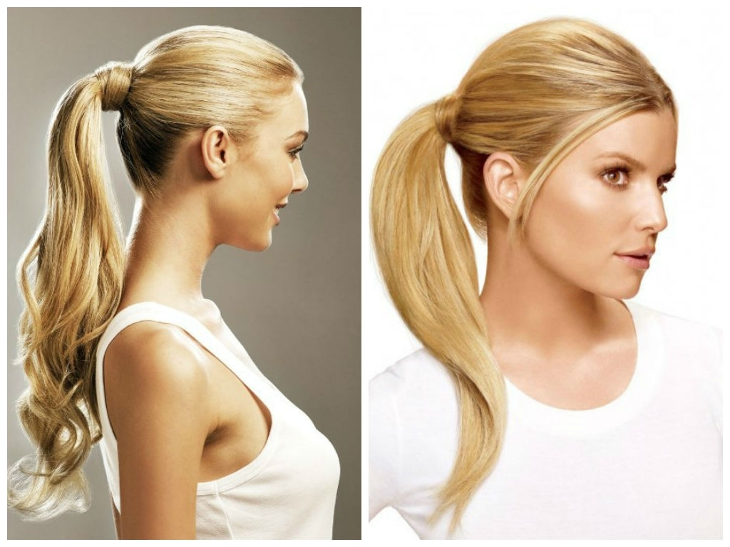 Recent Textured Ponytail Hairstyles With Hairstyles To Wear To The Gym – Hair World Magazine (View 14 of 20)