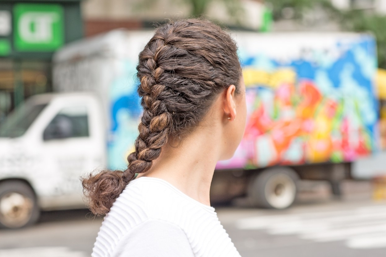 Recent Two Braids In One Hairstyles Throughout The Best Braided Hairstyles For Fine Hair And Curly Hair (View 14 of 20)