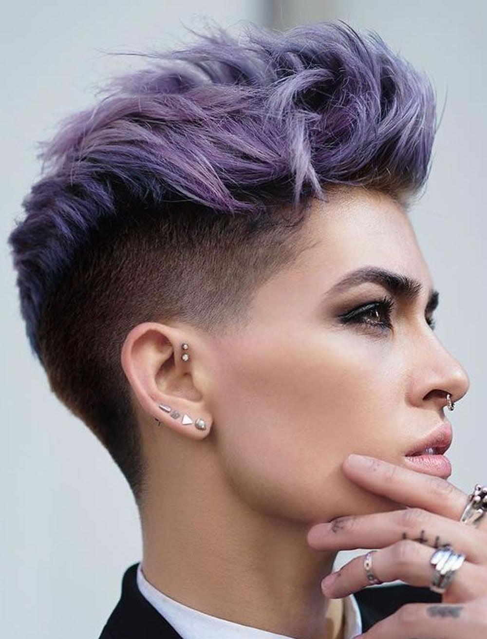 Recent Undercut Pixie Hairstyles Intended For Einfache Frisuren Für Kurzes Haar 2018  (View 11 of 20)