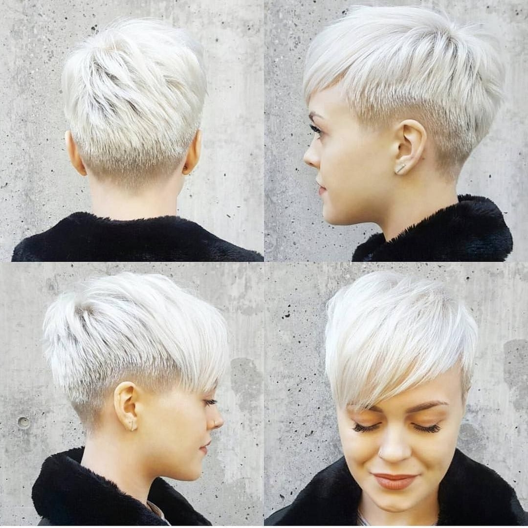 Recent Uneven Undercut Pixie Hairstyles Inside Just Short Haircuts, Nothing Else (View 17 of 20)