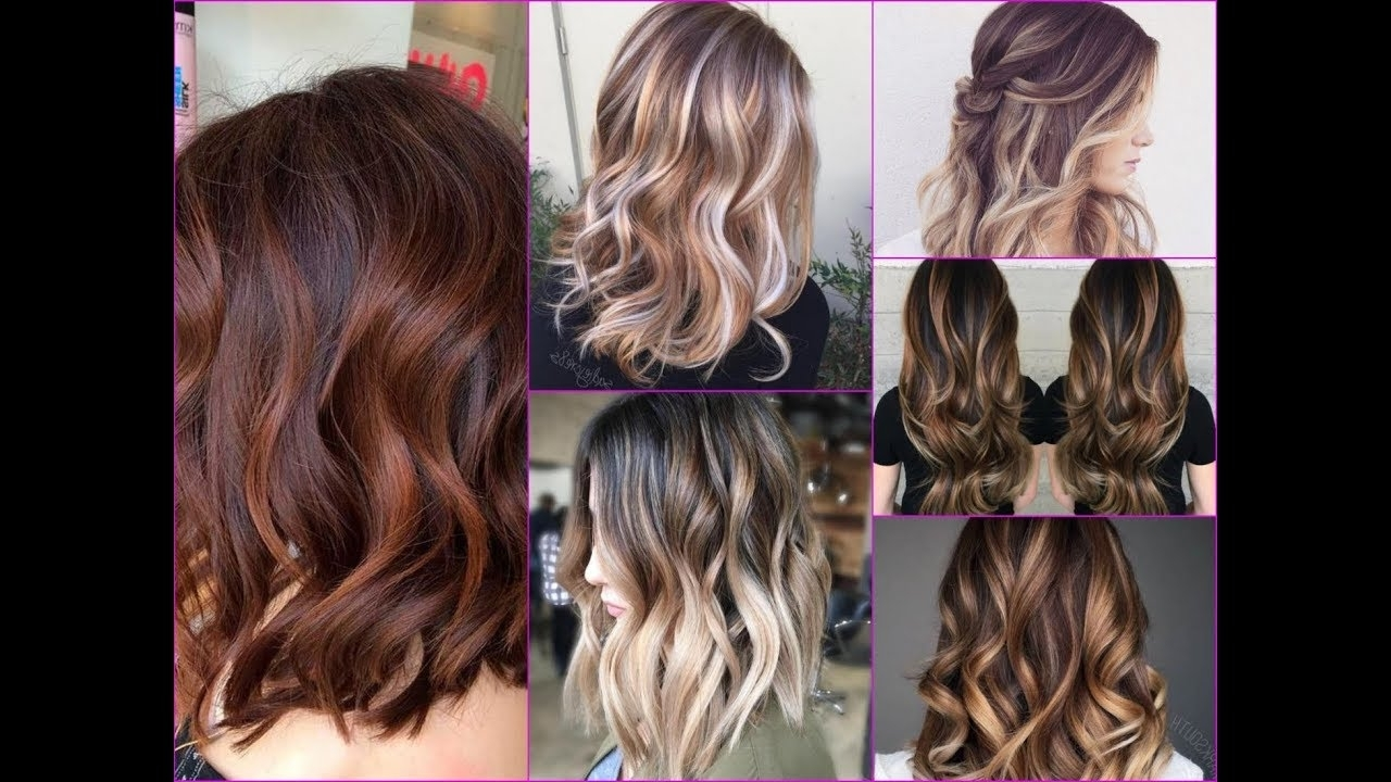 Recent Wavy Caramel Blonde Lob Hairstyles Pertaining To 2018 Hottest Balayage Hair Color Ideas With Caramel, Blonde And (View 19 of 20)