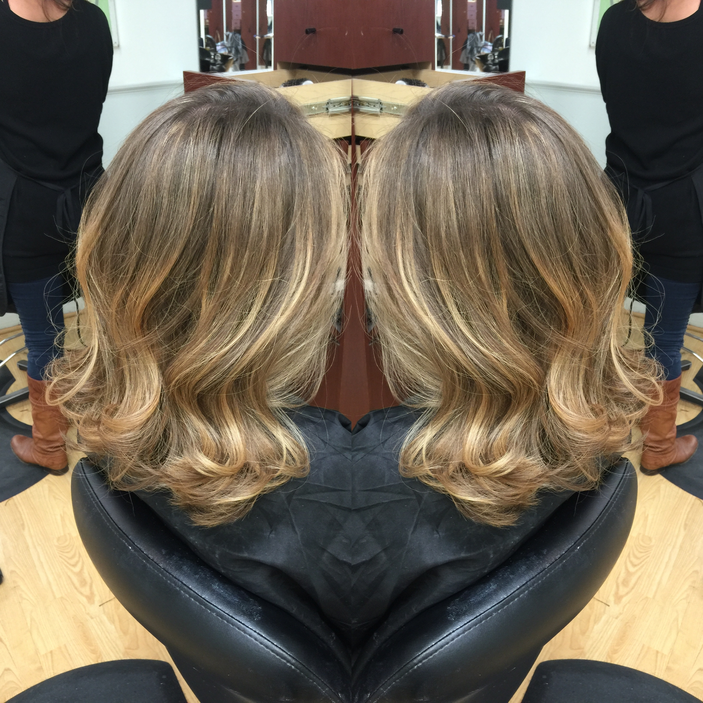 Redlands Hair Stylist Natural Long Dark Ash Blonde Hair To Long Bob For 2018 Bright Long Bob Blonde Hairstyles (View 16 of 20)