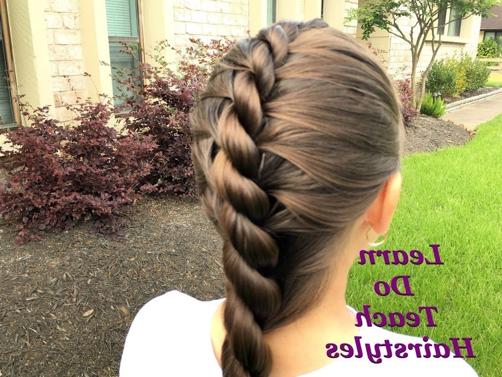 Rope Twist French Braid (View 4 of 20)