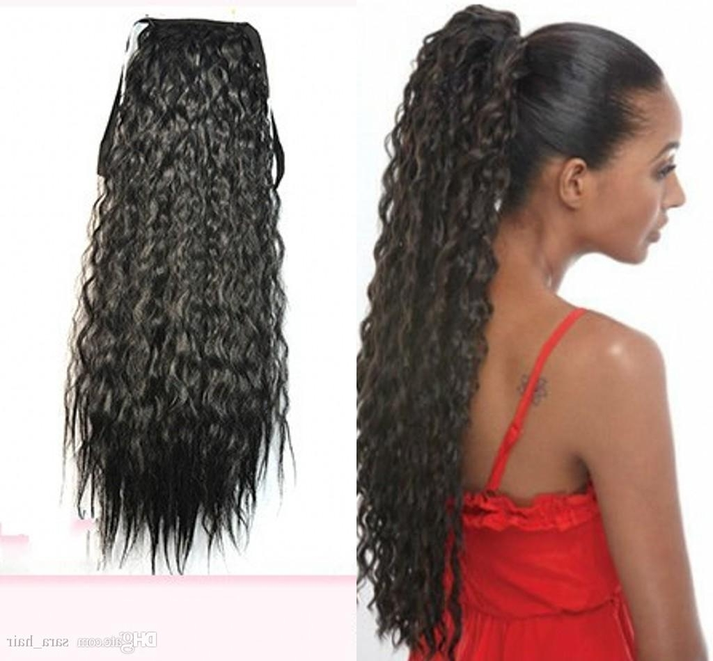 Sara Afro Puffs Ponytails Drawstring Kinky Deep Curly Hair Ponytail Within Widely Used Ombre Curly Ponytail Hairstyles (View 15 of 20)