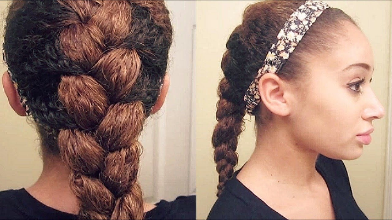 Sexy For Most Popular Braids With Curls Hairstyles (View 16 of 20)