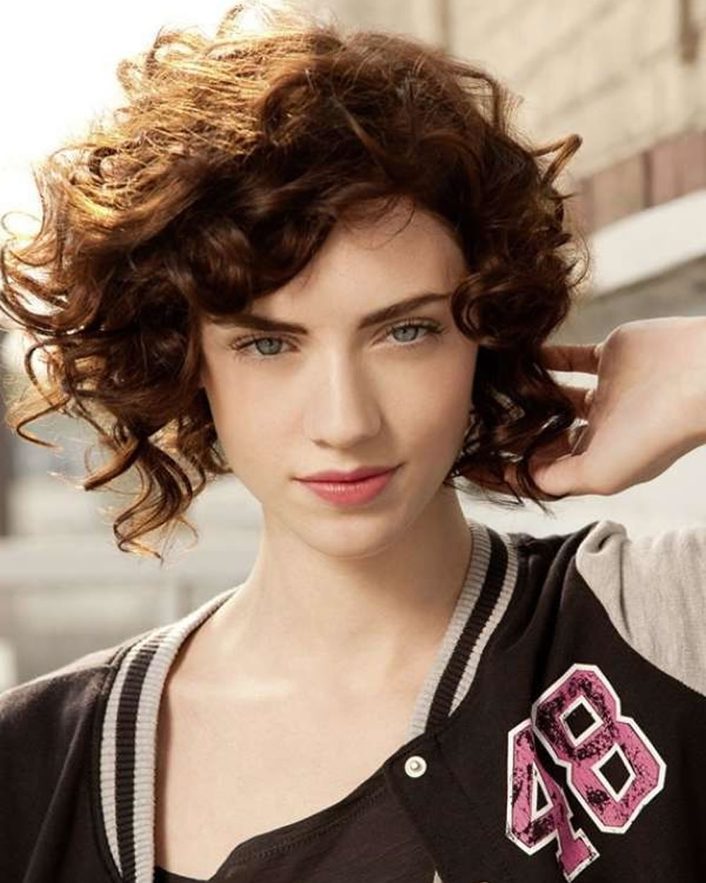Short Curly Asymmetrical Bob Haircut For Fine Hair – Page 5 – Hairstyles In Most Popular Asymmetrical Curly Ponytail Hairstyles (Gallery 20 of 20)