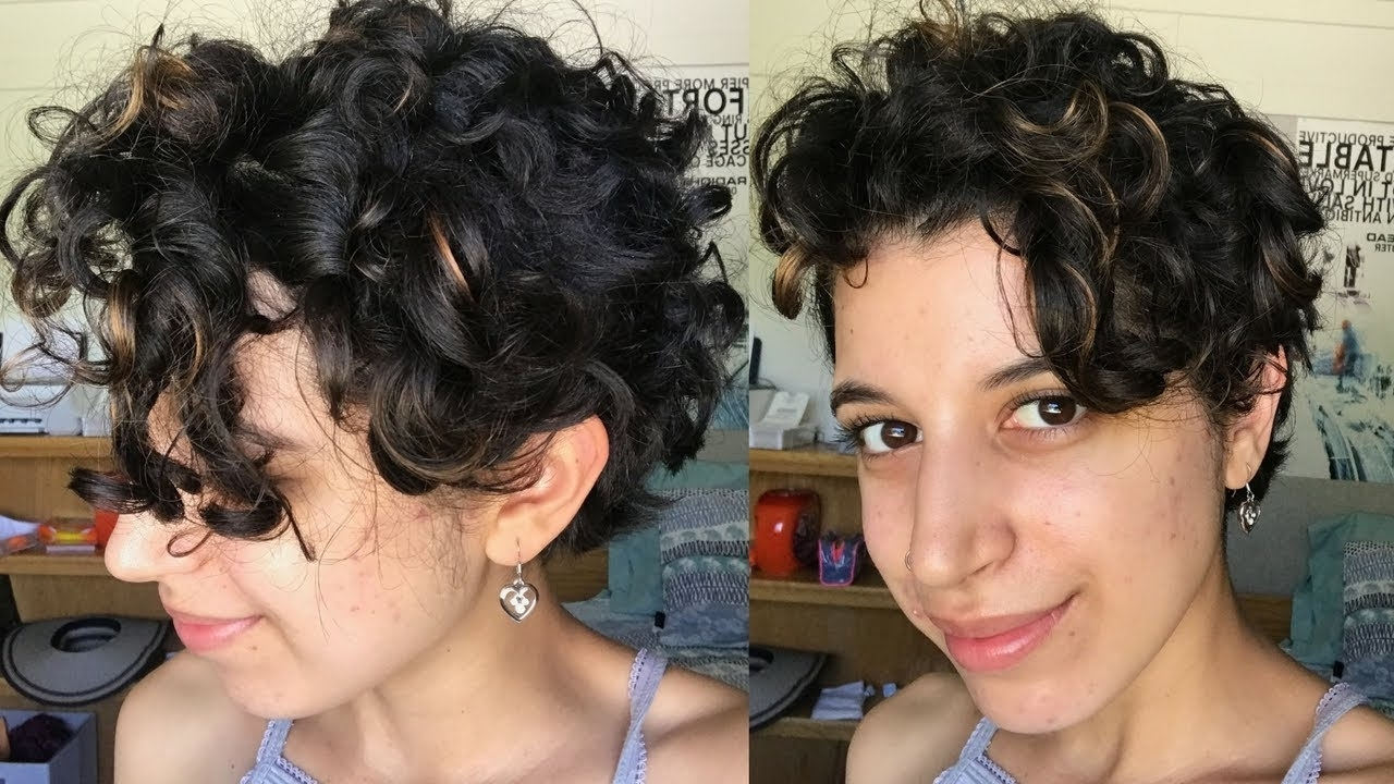 Short Curly Hair Routine (View 16 of 20)