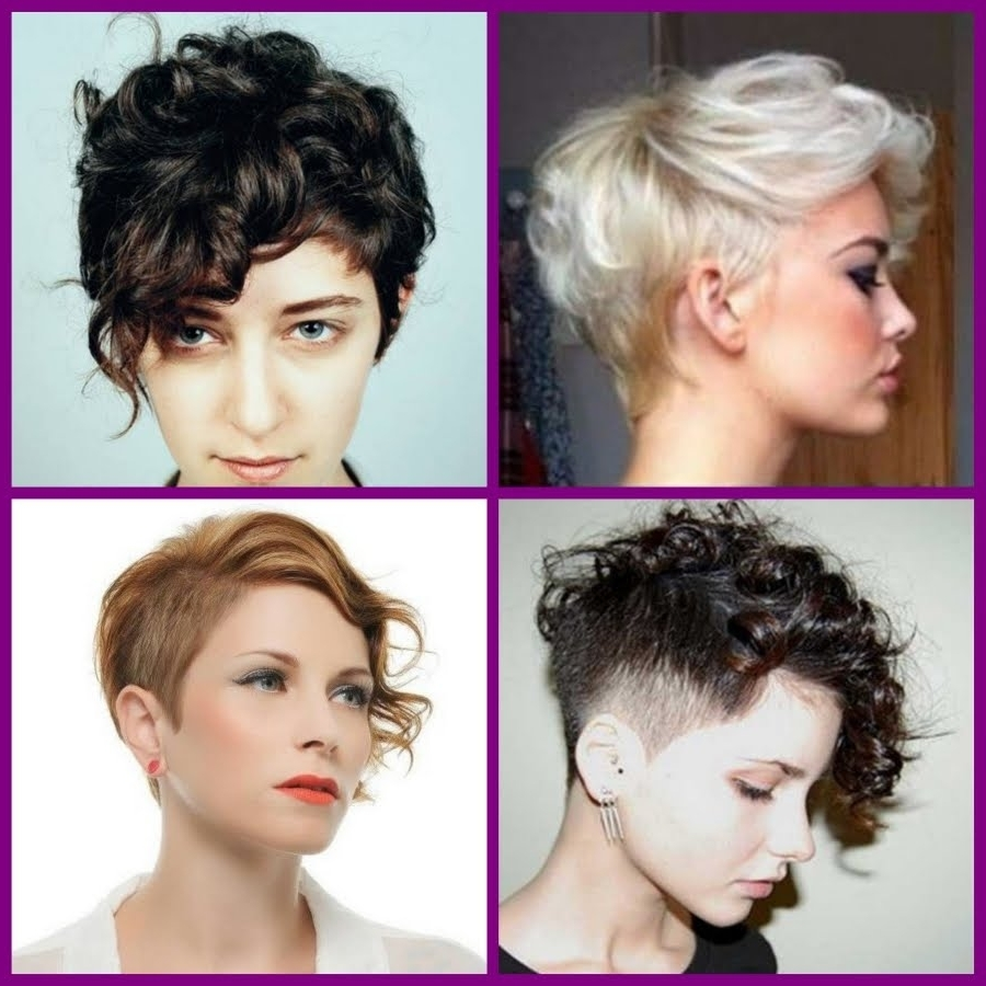 Short Curly Pixie Hairstyles – 20 Short Trendy Hairstyles 2016 – Youtube Pertaining To Popular Long Curly Pixie Hairstyles (View 19 of 20)