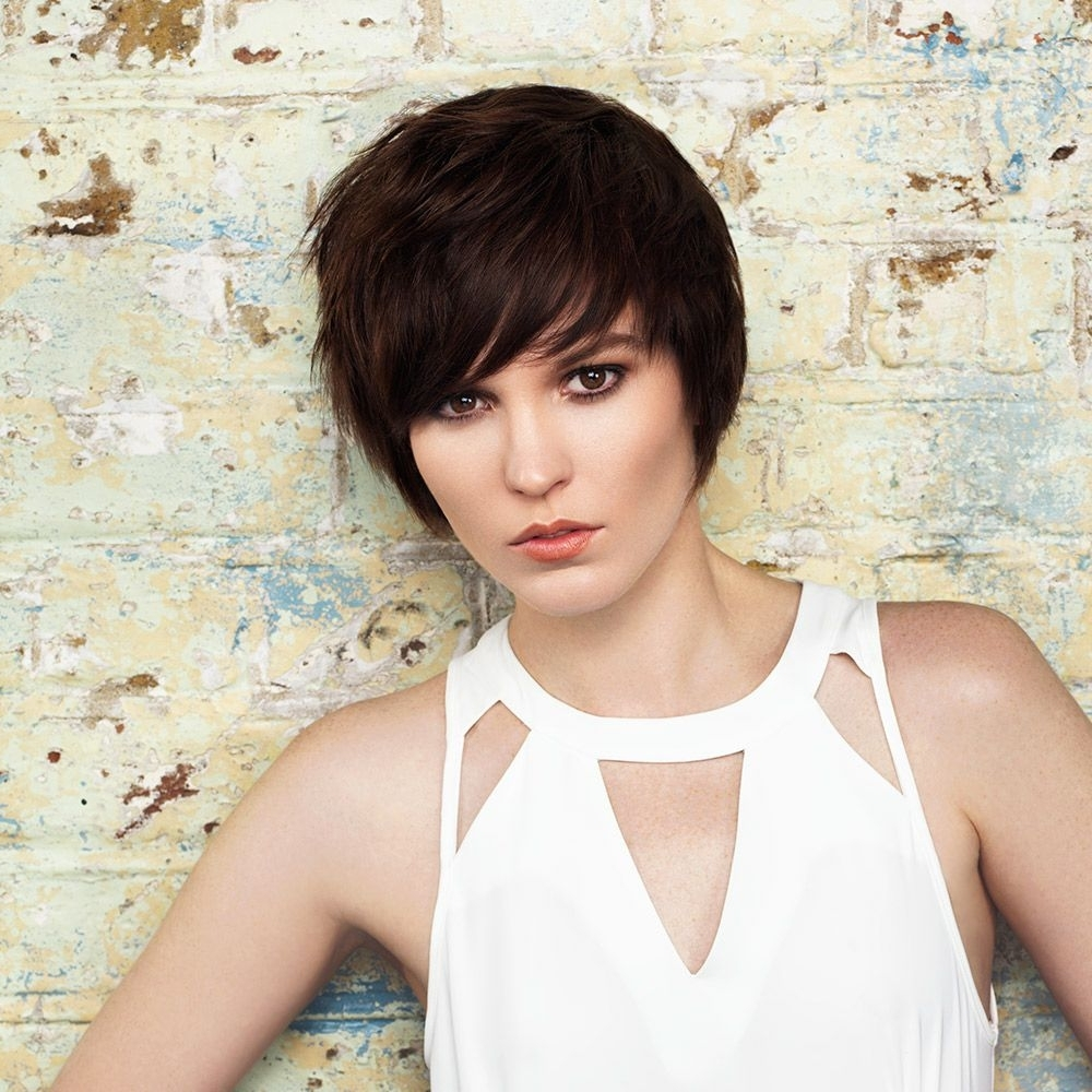 Short Hairstyles To Suit Every Age And Hair Colour Throughout 2018 Choppy Bowl Cut Pixie Hairstyles (View 13 of 20)