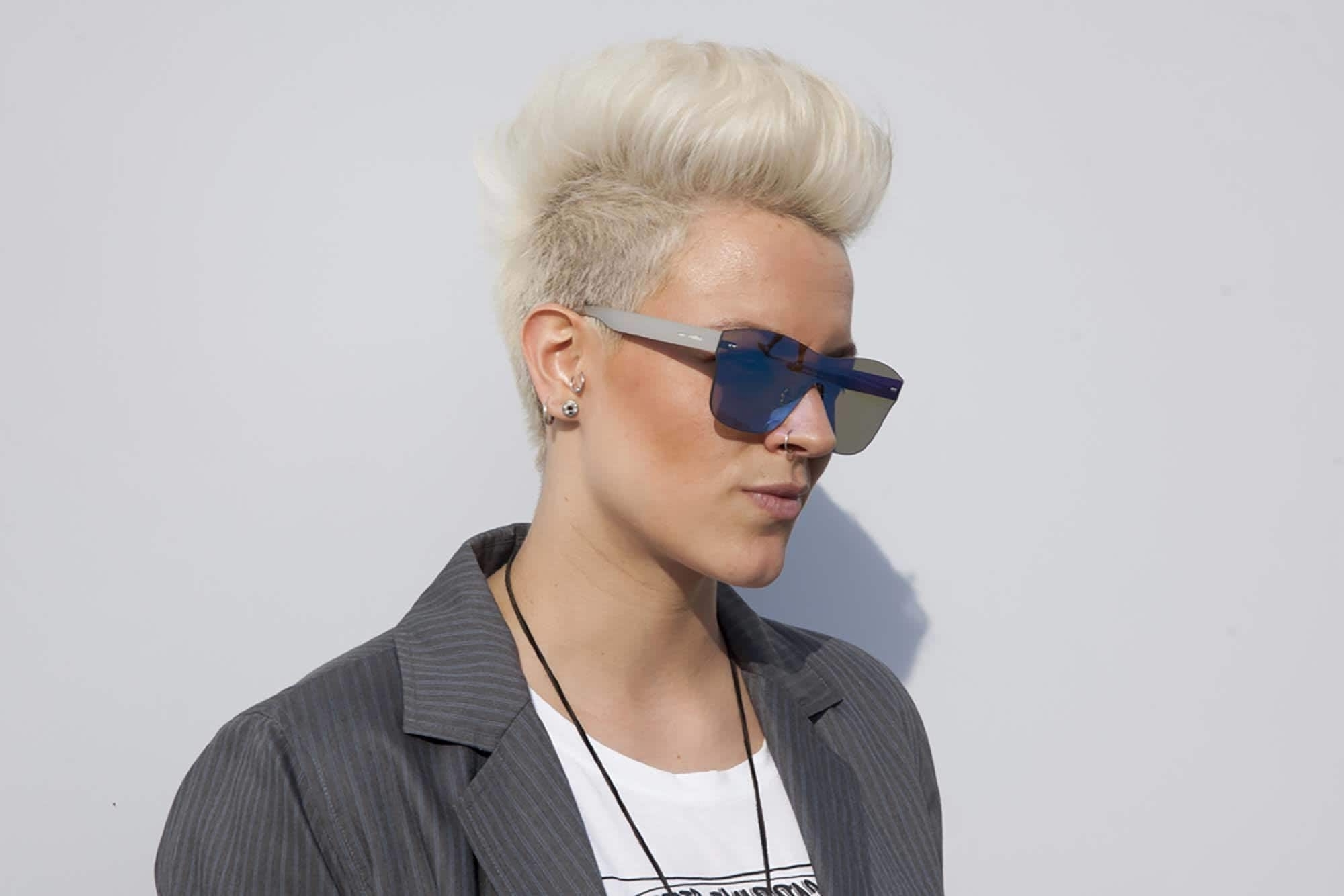 Short Spiky Haircuts For Women: 5 Edgy Hair Trends For Short Hair With Regard To Most Up To Date Spiked Blonde Mohawk Hairstyles (View 8 of 20)
