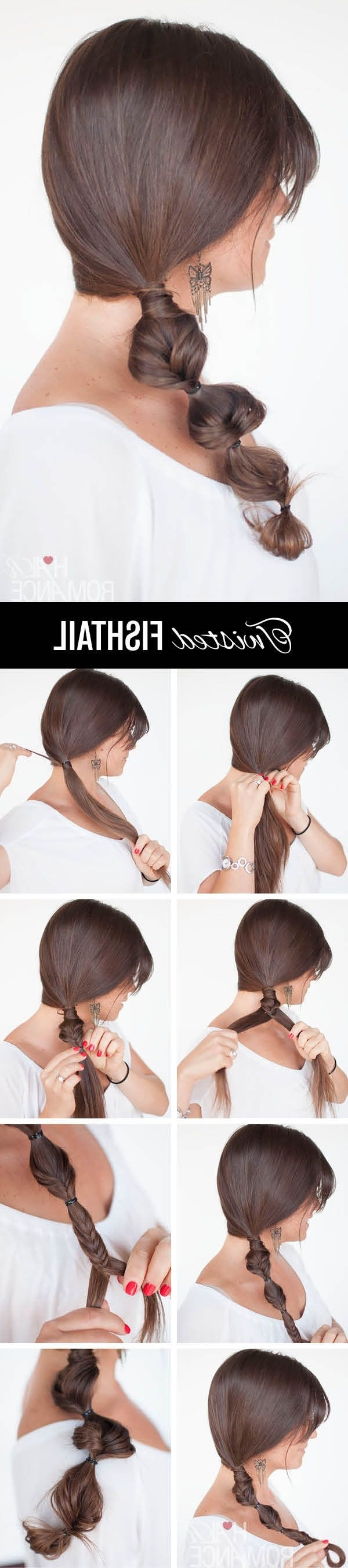 Side Braid With Regard To Well Known Romantic Twisted Hairdo Hairstyles (View 8 of 20)