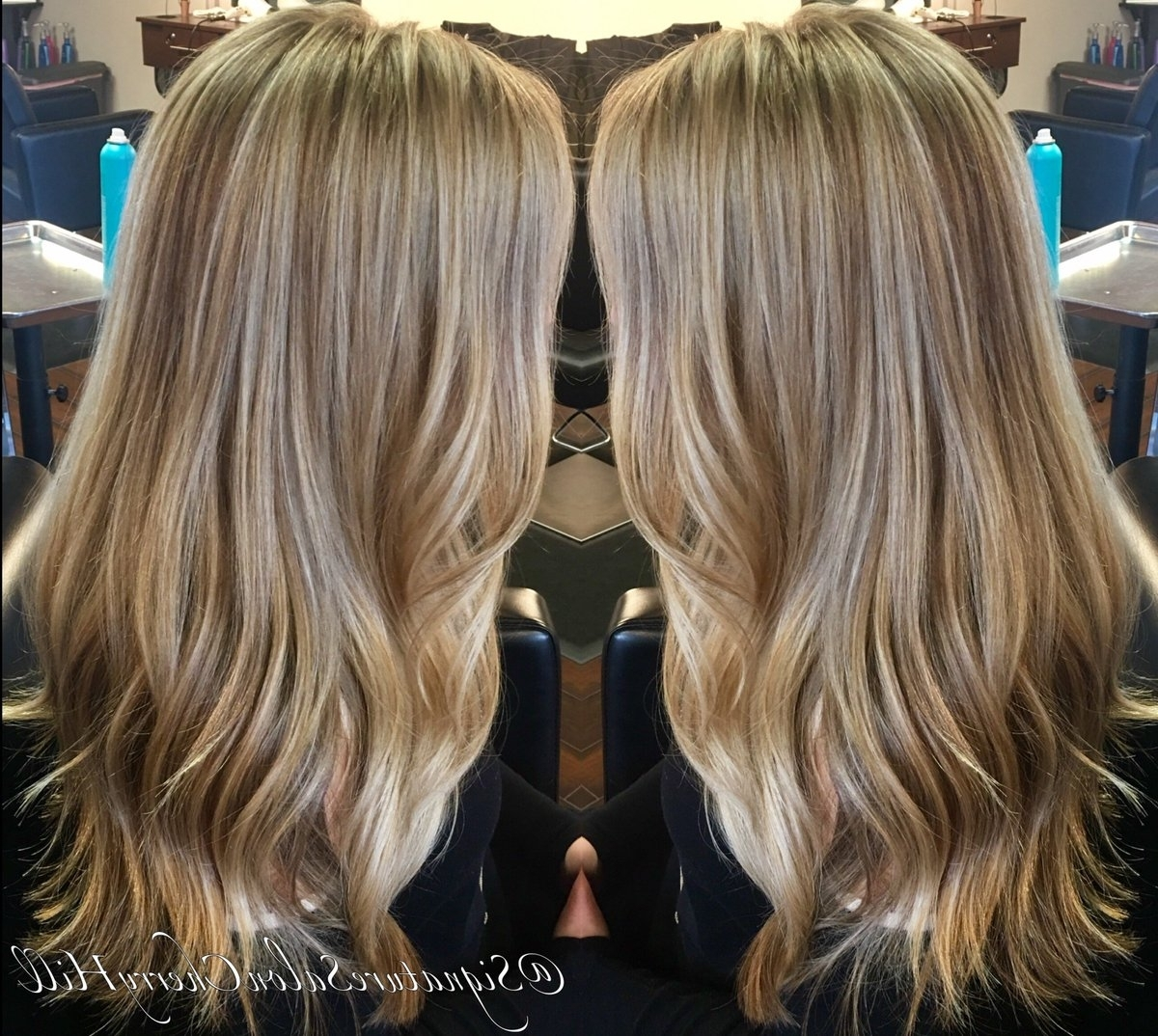 "Signaturesalon On Twitter: ""wheat Blonde ?janyra #haircolor With Regard To Most Popular Wheat Blonde Hairstyles (View 16 of 20)"