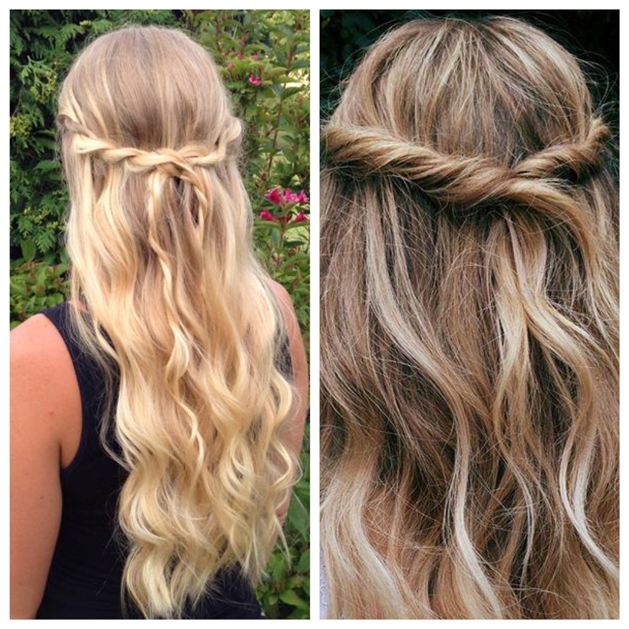 Simple And Easy Half Up Hairstyles For Weddings – Hair World Magazine In Preferred Braided Along The Way Hairstyles (View 18 of 20)