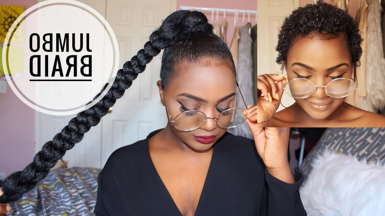 Sleek High Ponytail On Short Natural Hair – Youtube (View 17 of 20)