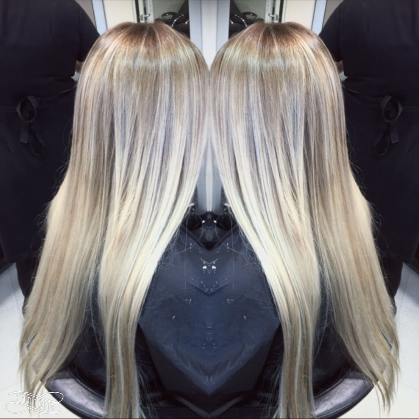 Soft Ombre, Root Fade Clean Blonde (View 8 of 20)