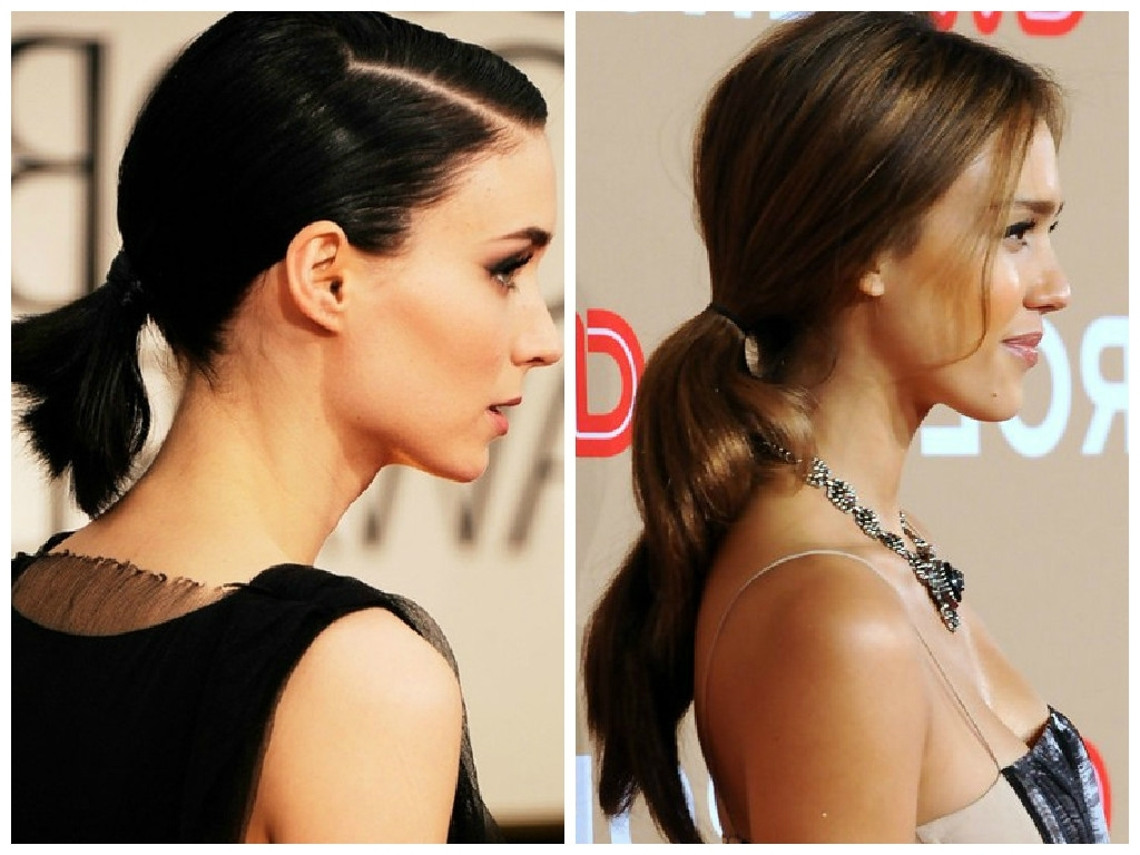Spring 2015 Hair Style Trends – Hair World Magazine Intended For Popular Stylish Low Pony Hairstyles With Bump (View 16 of 20)
