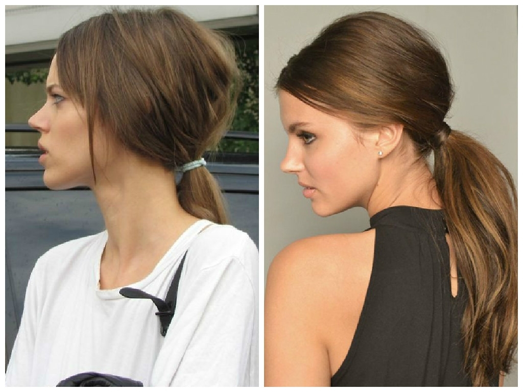 Spring 2015 Hair Style Trends – Hair World Magazine Pertaining To Widely Used Stylish Low Pony Hairstyles With Bump (View 17 of 20)