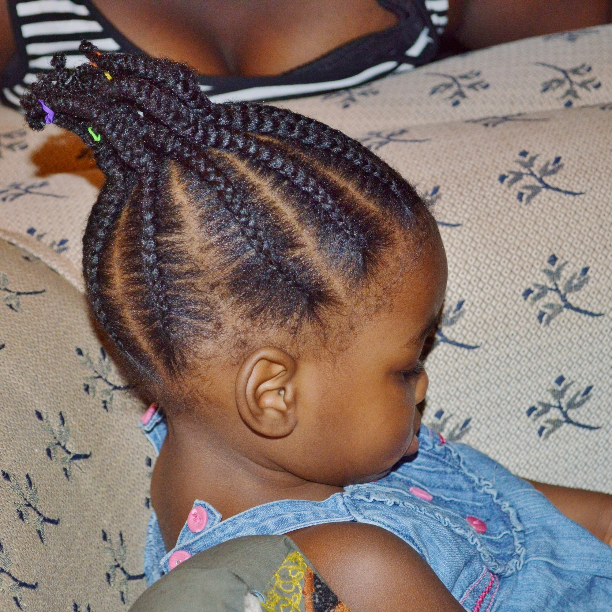 Styling Your Toddler's Natural Hair – Jam And Tea With Most Popular Cornrows Hairstyles For Long Ponytail (View 19 of 20)