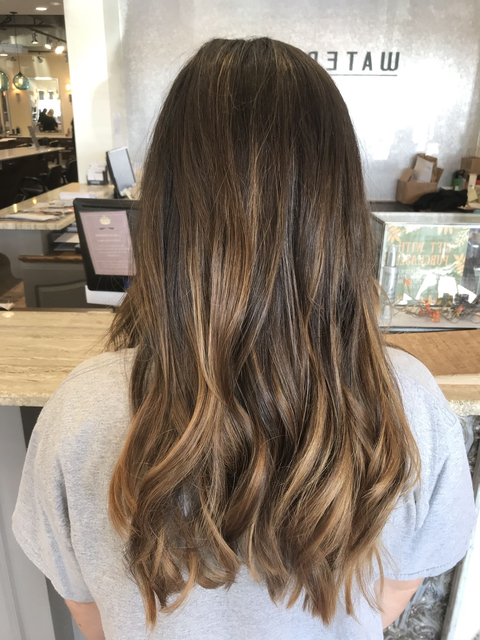 Subtle Balayage On Brunette Hair (View 14 of 20)