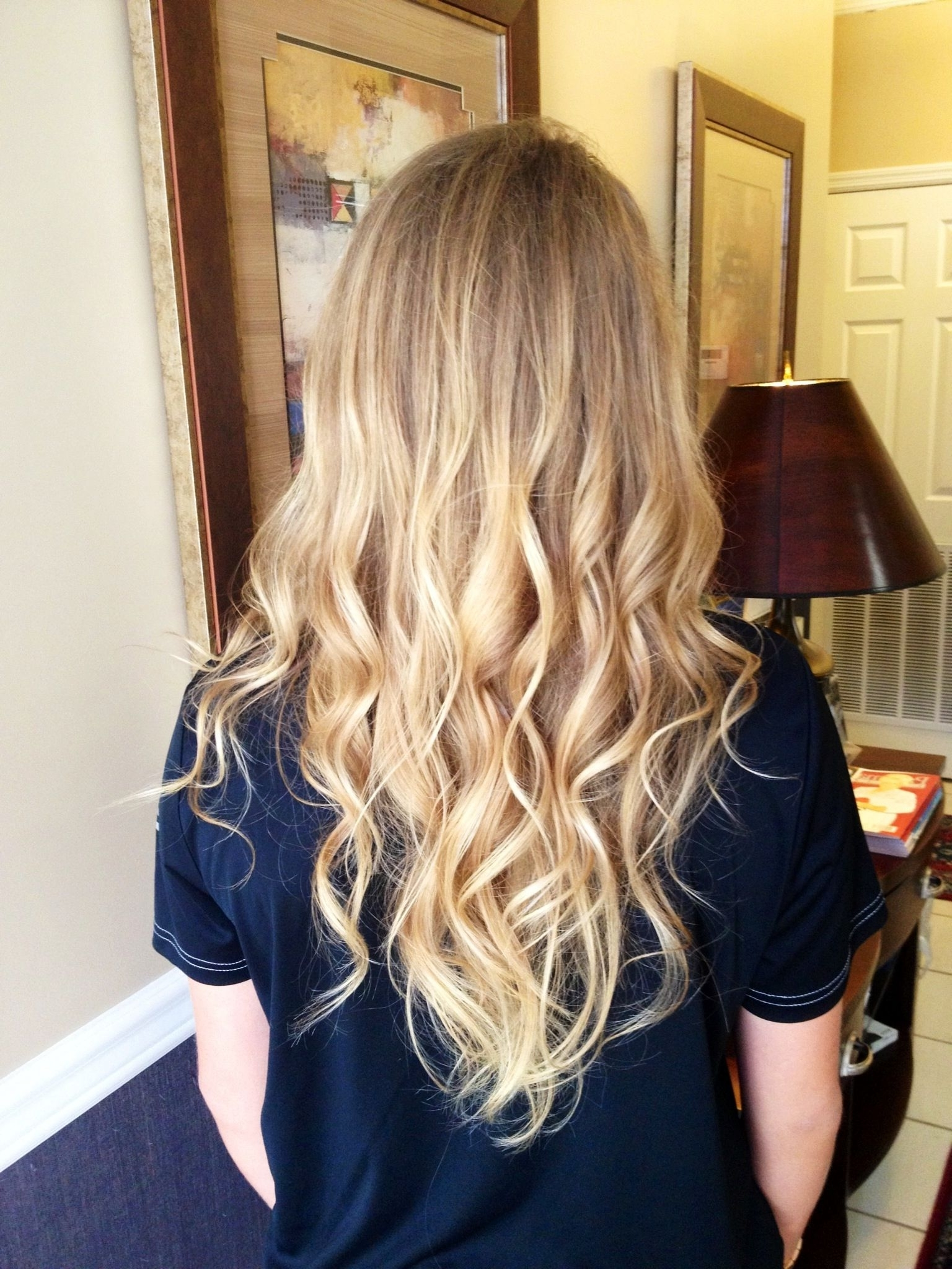 Subtle Blonde On Blonde Ombré! Starting With My Natural Hair Color Pertaining To 2018 Subtle Blonde Ombre (View 16 of 20)