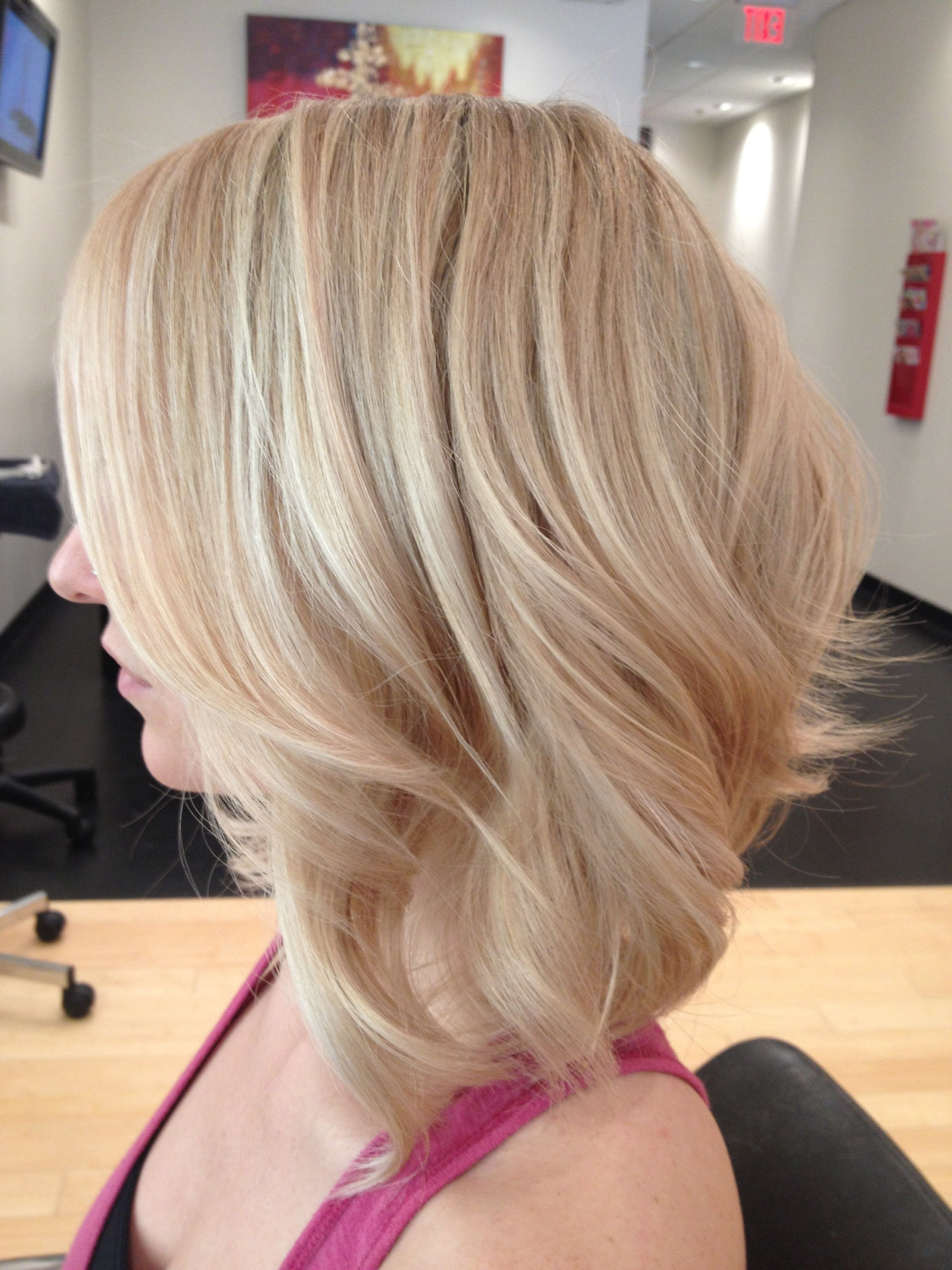 Summer Buttery Blonde With Texture Www (View 16 of 20)