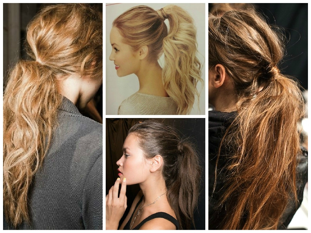 Summer Hairstyle Ideas For Long Hair – Hair World Magazine Inside Fashionable Wrapped Up Ponytail Hairstyles (View 8 of 20)