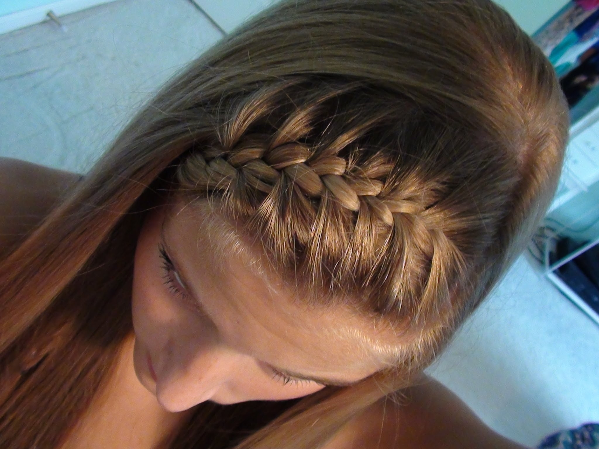 Tasha Farsaci For Current Brunette Ponytail Hairstyles With Braided Bangs (View 10 of 20)