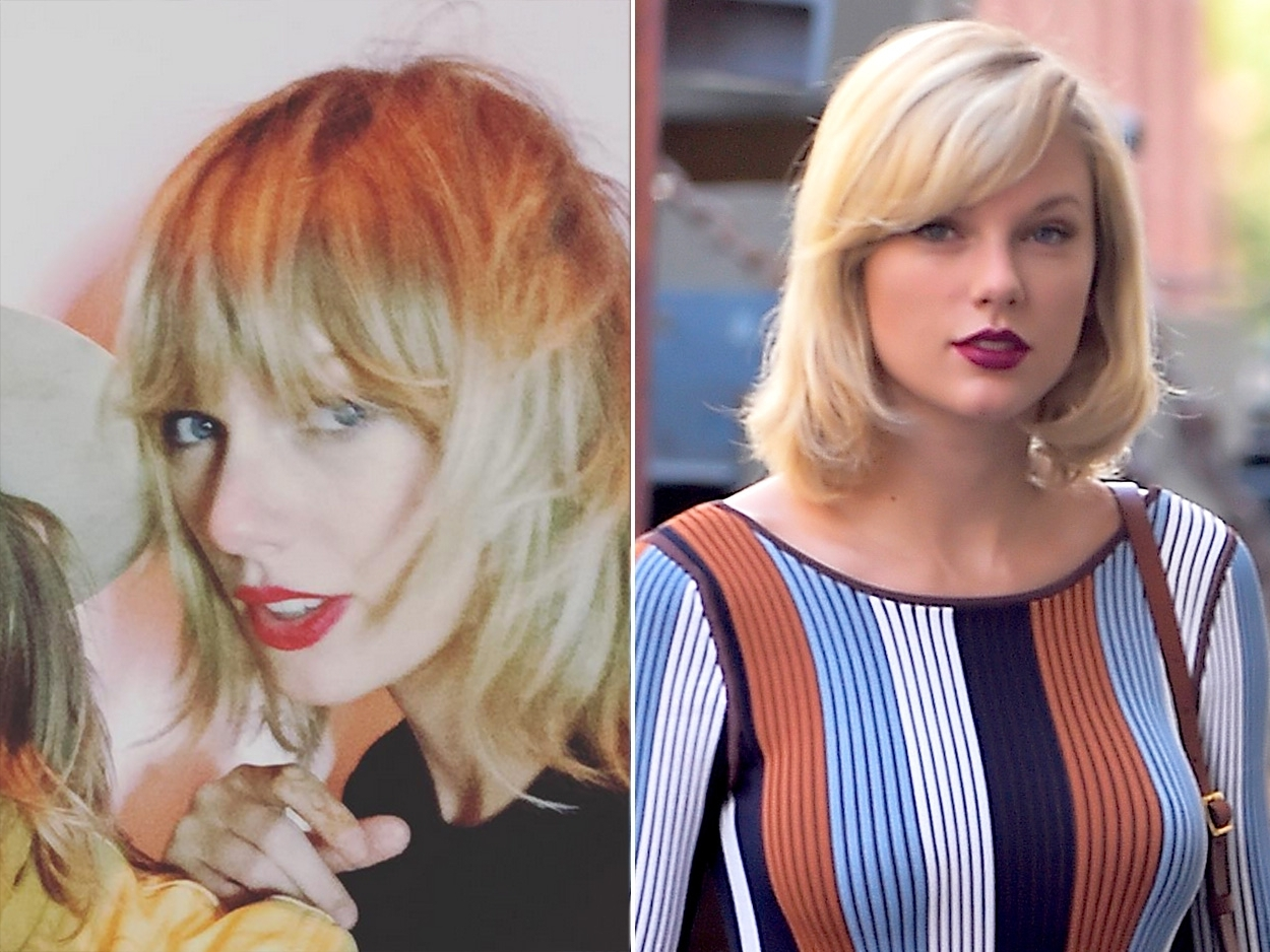 Taylor Swift Debuts New Shag Haircut After Tom Hiddleston Breakup Intended For Preferred Platinum Tresses Blonde Hairstyles With Shaggy Cut (View 18 of 20)