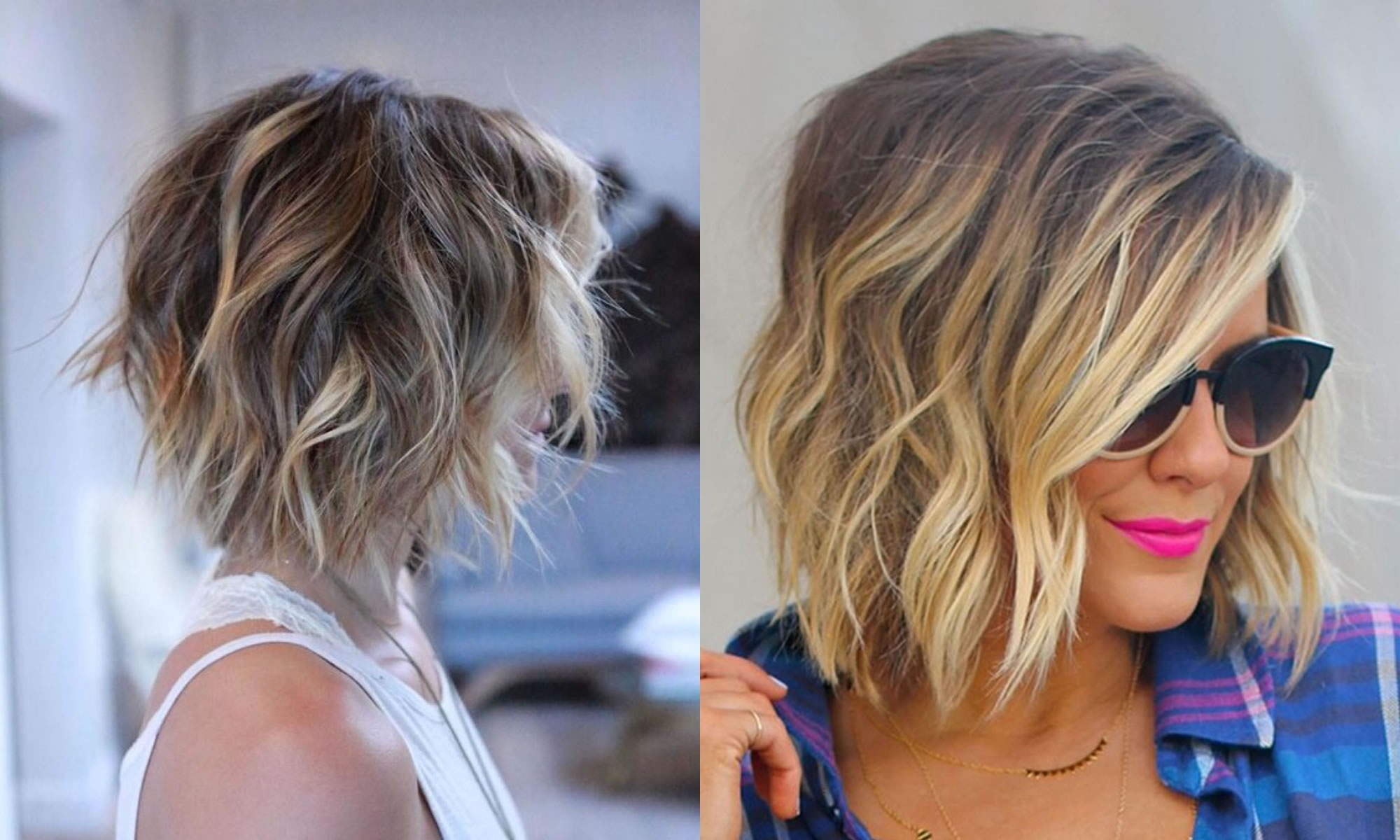 The Best 50 Balayage Bob Hairstyles (short+long) & Highlights – Page Regarding Popular Shaggy Pixie Hairstyles With Balayage Highlights (View 3 of 20)