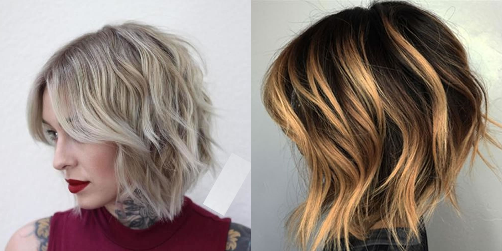 The Best 50 Balayage Bob Hairstyles (short+long) & Highlights – Page Throughout Most Up To Date Shaggy Pixie Hairstyles With Balayage Highlights (View 4 of 20)
