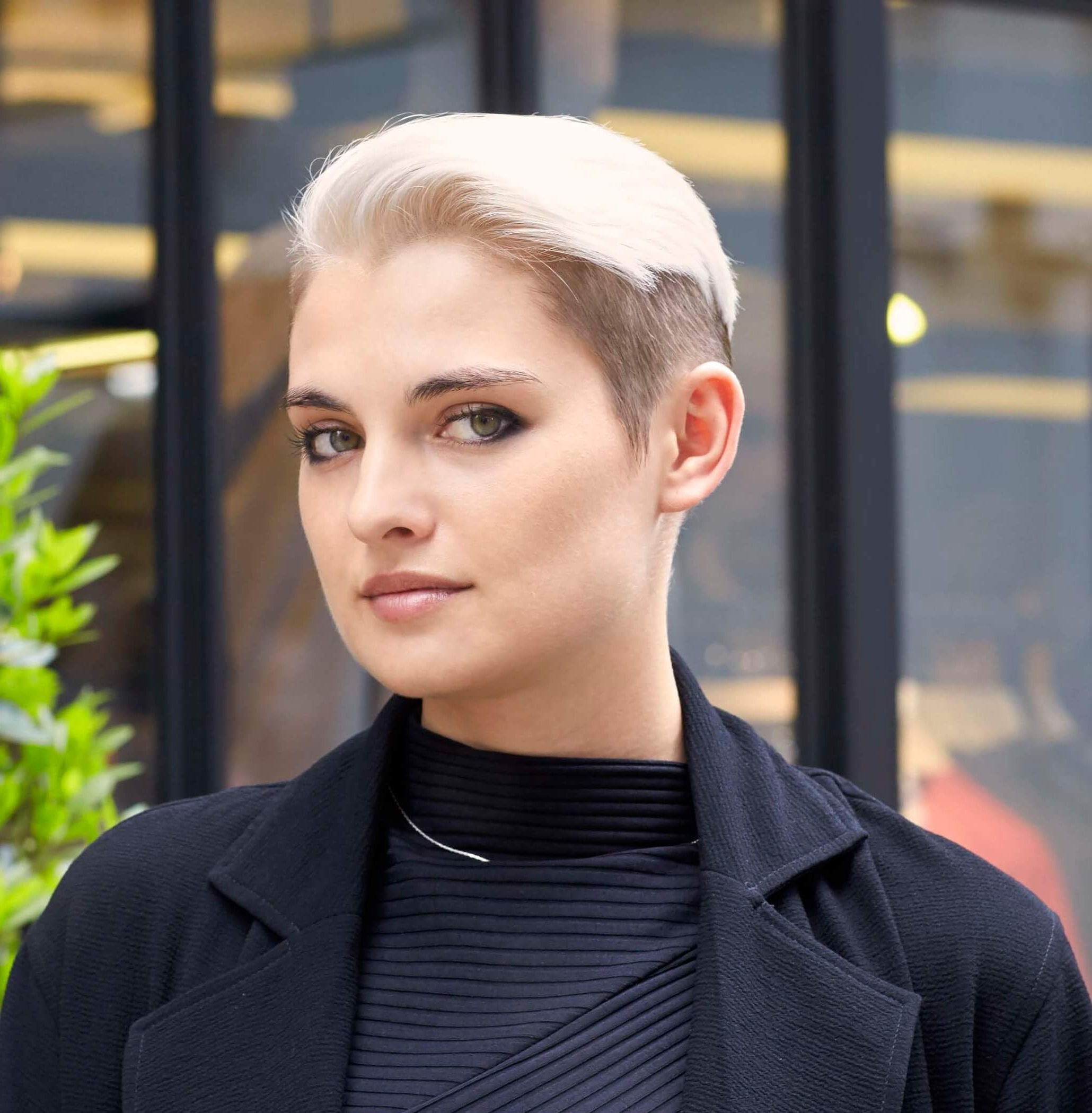 The Best New Haircuts To Show Your Stylist With Regard To Most Popular Disconnected Blonde Balayage Pixie Hairstyles (View 17 of 20)