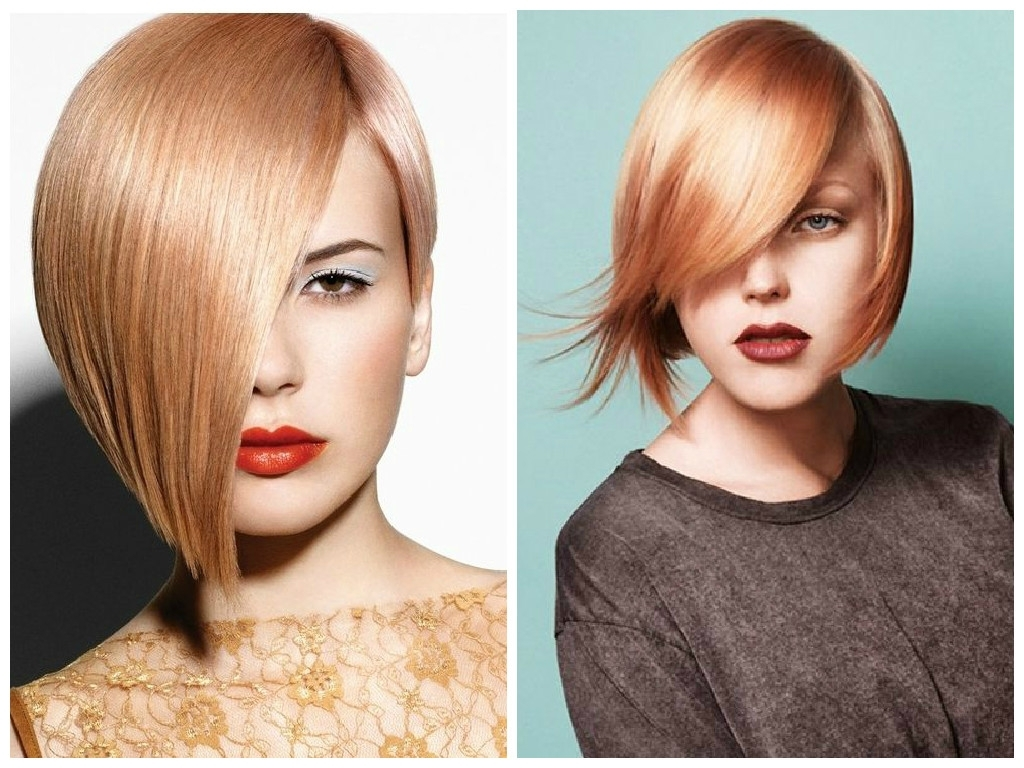 The Best Strawberry Blonde Bobs – Hair World Magazine With Regard To Well Liked Side Swept Warm Blonde Hairstyles (View 17 of 20)