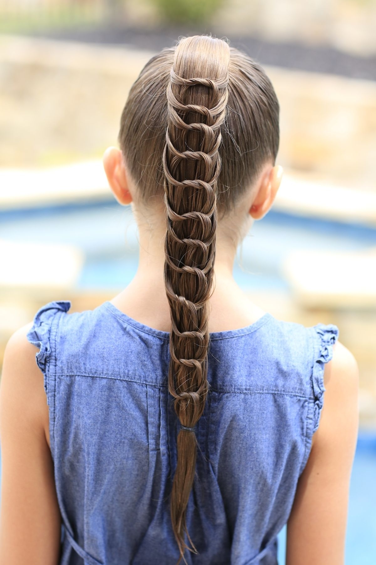 The Knotted Ponytail Hairstyle! So Cute! #cutegirlshairstyles Throughout Well Known Braided And Knotted Ponytail Hairstyles (View 18 of 20)