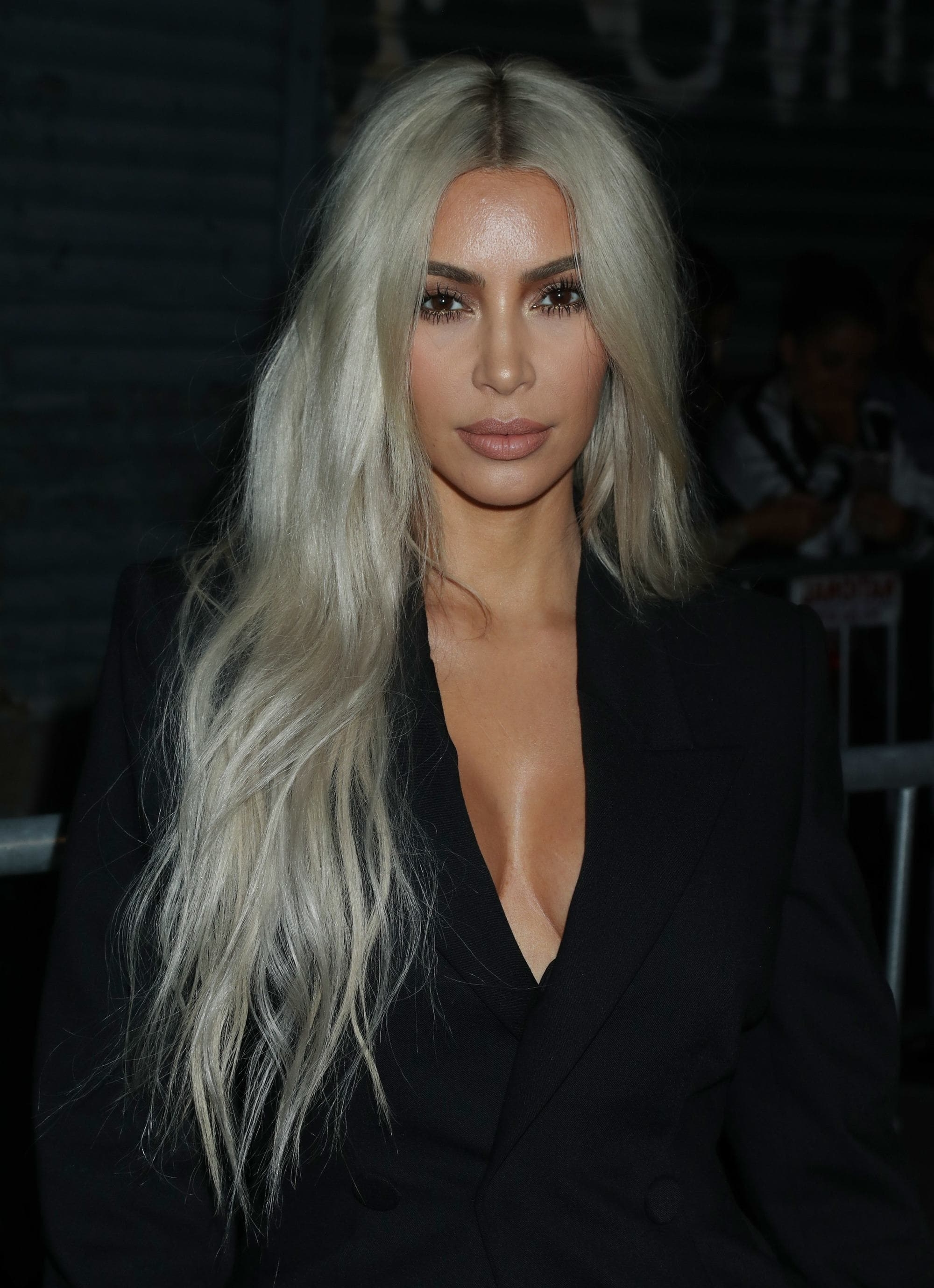 The Mane List: September's Most Notable Celebrity Hair Transformations With Most Popular Glamorous Silver Blonde Waves Hairstyles (View 20 of 20)