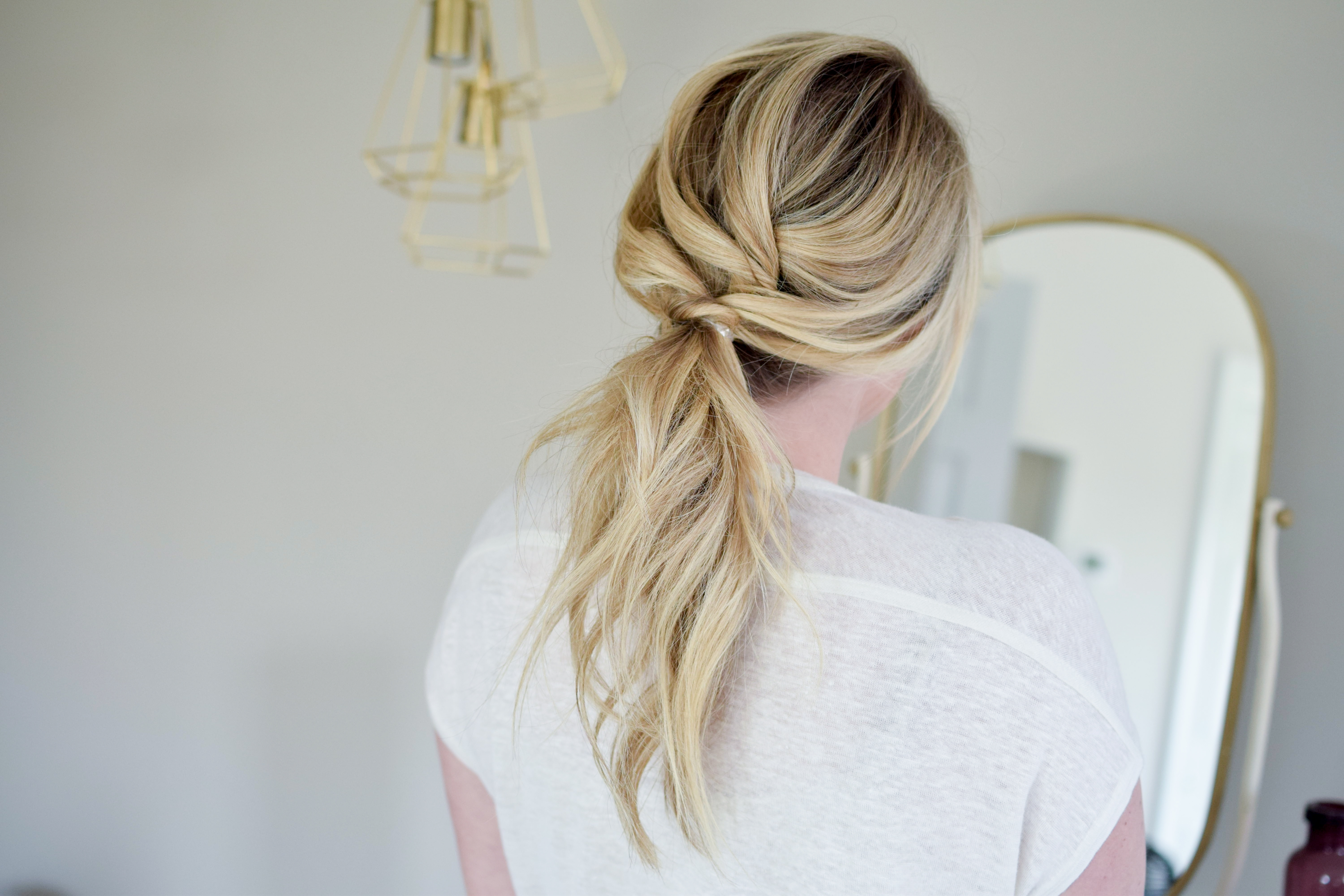 The Textured Ponytail – The Small Things Blog In Preferred Textured Ponytail Hairstyles (View 17 of 20)