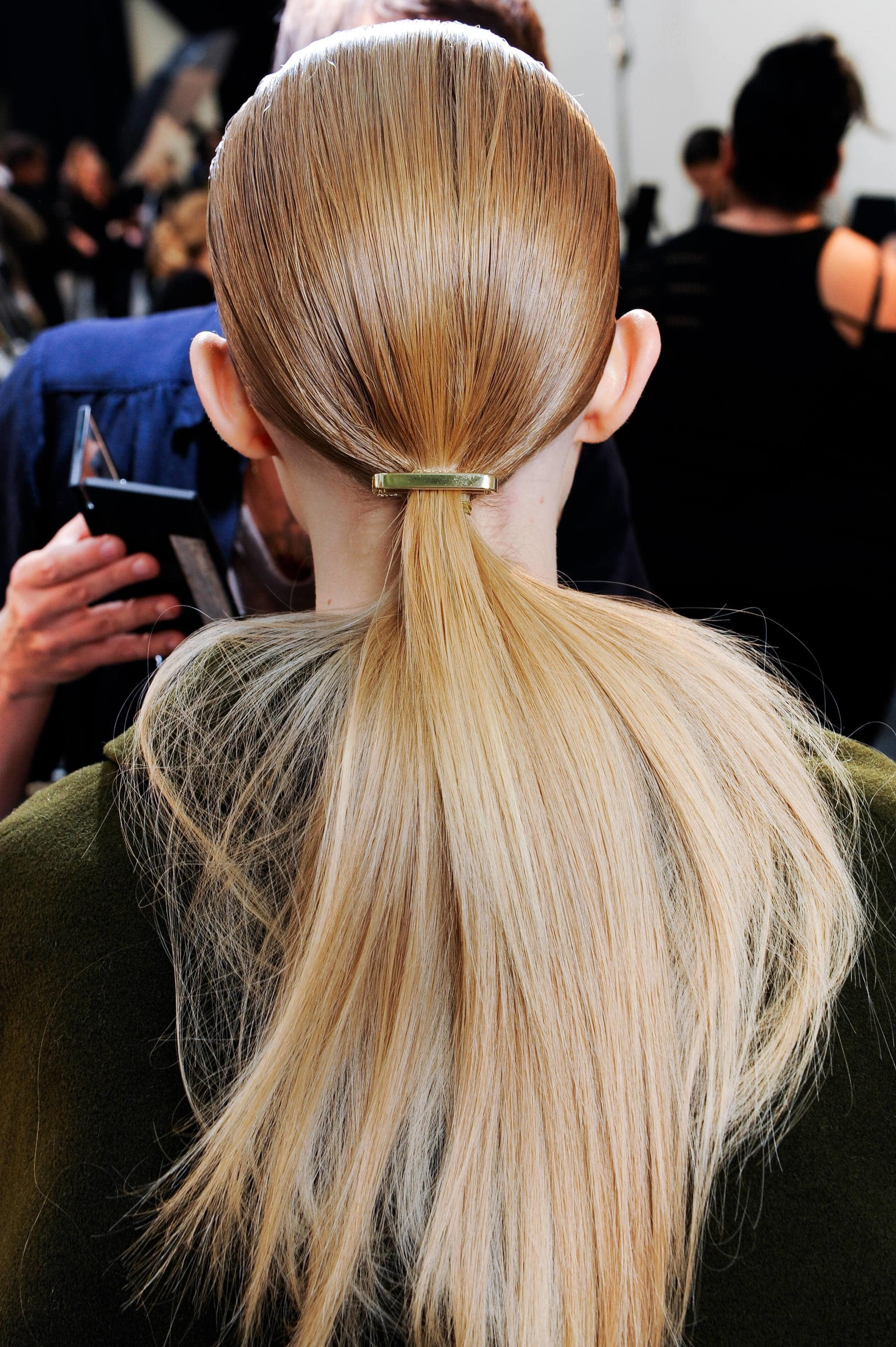 Thick Hair Ponytail Hairstyle Ideas And Inspiration For Valentine's Day For Popular Bubbly Blonde Pony Hairstyles (View 14 of 20)