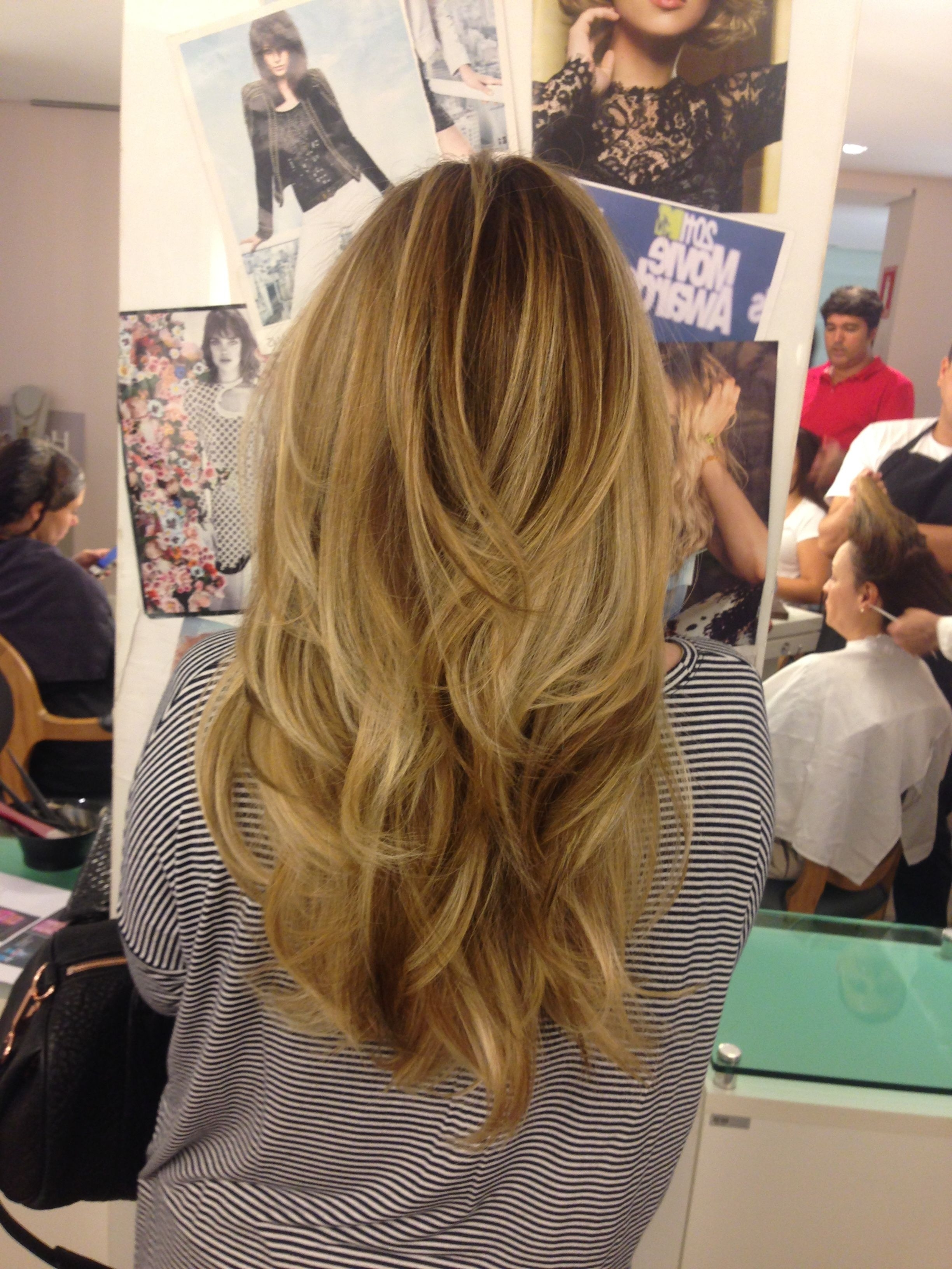 This Is Me Back To Blond Hair! Some Would Call It Ombré, Others Pertaining To Current Tortoiseshell Curls Blonde Hairstyles (View 9 of 20)