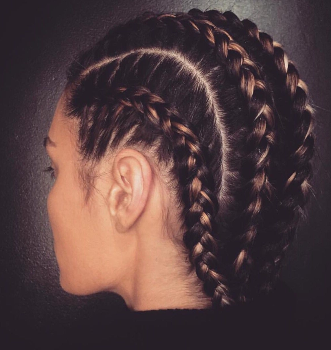 Tight Braids … (View 18 of 20)