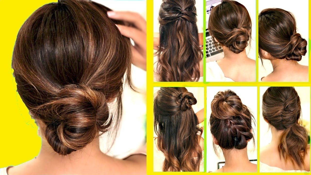 Top 10 ☆ Lazy – Running Late Hairstyles & Hacks For Frizzy Hair Pertaining To Popular Classy 2 In 1 Ponytail Braid Hairstyles (View 19 of 20)