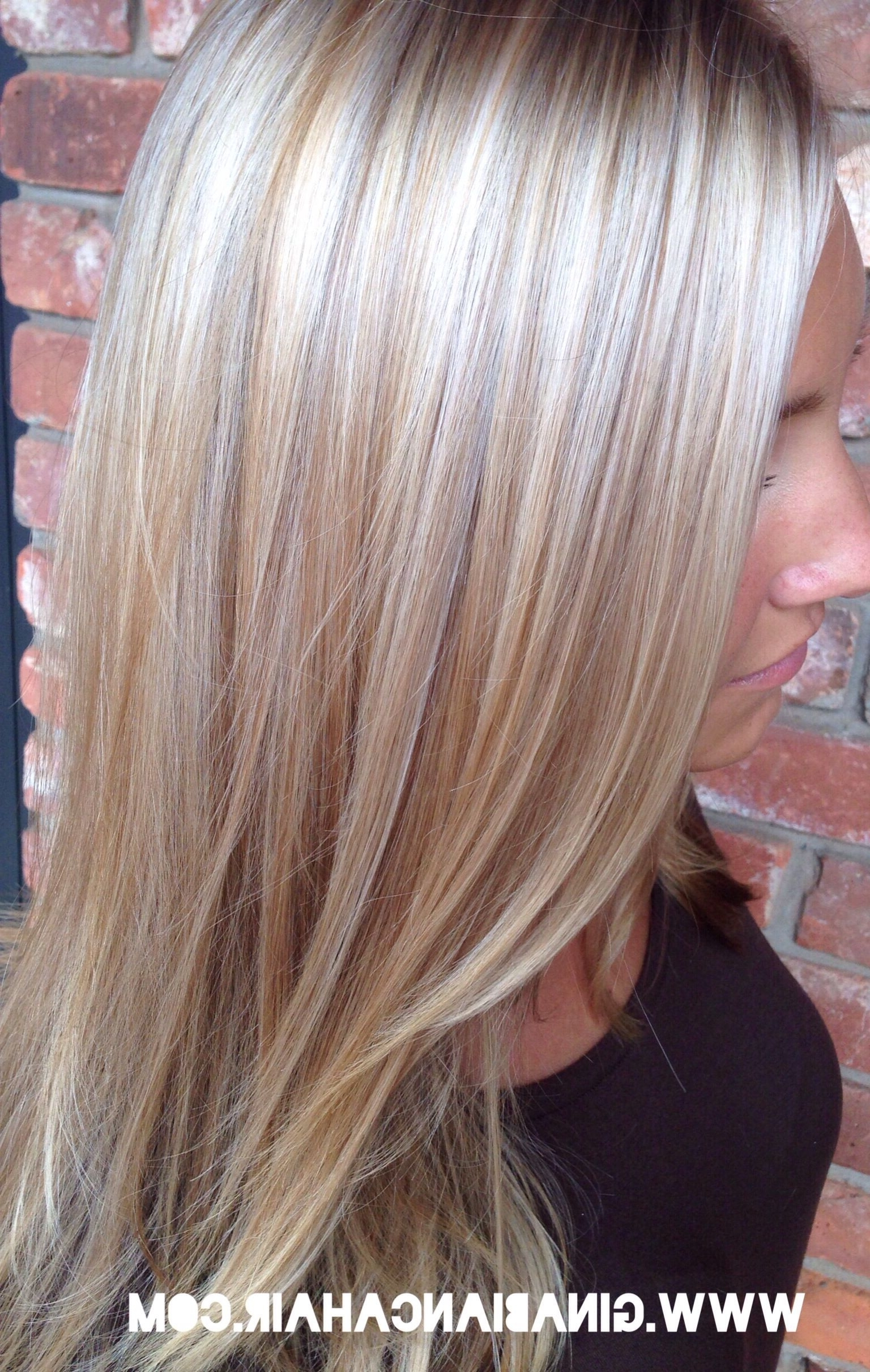 Top 15 Long Blonde Hairstyles (Don't Miss This)! (View 18 of 20)