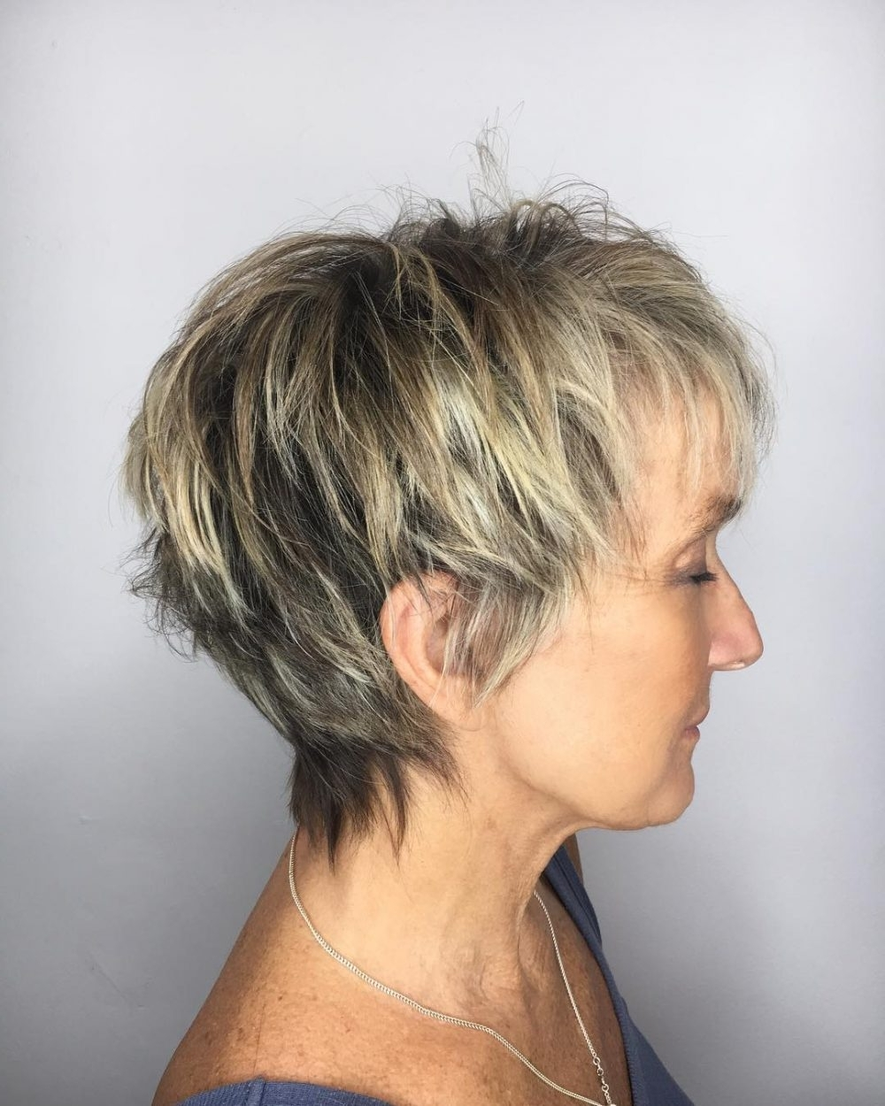 Top 22 Choppy Hairstyles You'll See In 2018 For Popular Imperfect Pixie Hairstyles (View 16 of 20)