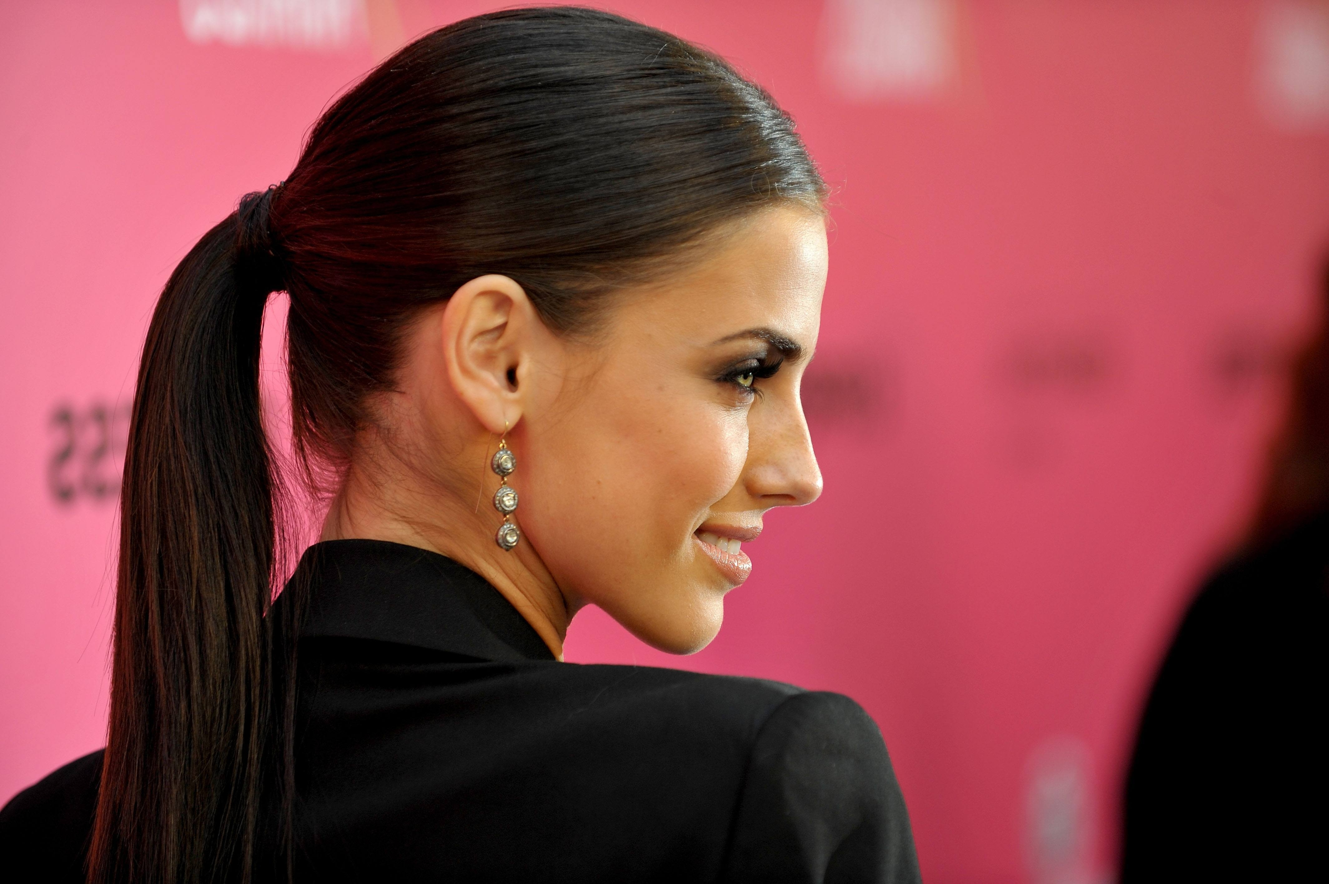 Top 25 Easy And Beautiful Ponytail Hairstyles Throughout Well Liked Super Sleek Ponytail Hairstyles (View 8 of 20)